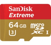SanDisk 64GB EXTREME, 90MB/s CL10 UH