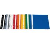 Donau Gyorsfűző, lefűzhető, PVC, A4, kék (10db)