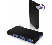 Raidsonic Icy Box 4 portos USB 3.0 hub