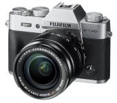 Fujifilm X-T20 XF18-55mm f/2.8-4 R ezüst kit