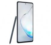 Samsung Galaxy Note10 Lite fénylő fekete