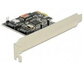 Delock SATA II PCI Express Kártya, 2 Port