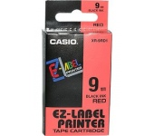 Casio víztiszta-fekete 9mm x 8m