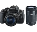Canon EOS 750D + 18-55mm + 55-250mm IS STM kit