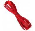 BitFenix 6 tűs PCIe hosszabbító 45cm piros/piros