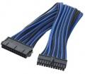 BitFenix 24 tűs ATX hosszabbító 30cm fekete/kék