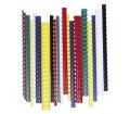 Fellowes Spirál, műanyag, 12 mm, 56-80 lap, piros