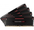 Corsair Vengeance LED piros DDR4-2666 C16 Kit4 32G