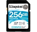Kingston Canvas Go! SDXC 90/45MB/s 256GB