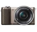 Sony Alpha 5100 barna + 16-50mm