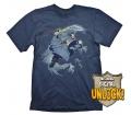 """Dota 2 T-Shirt """"Kunkka + Ingame Code"""", M"""