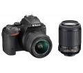 Nikon D5300 18-55 VR II + 55-200 VR II KIT Fekete
