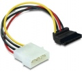 DELOCK Molex 4pin male > SATA 15pin female ferde