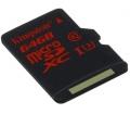 Kingston microSDHC UHS-I U3 90R/80W 64GB