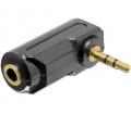 Delock elfordított 3,5mm jack adapter