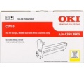 OKI C710 sárga dobegység
