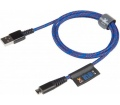 Xtorm Solid Blue Micro USB 1m
