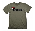 "Uncharted 4 T-Shirt ""Shoreline (Army)"", S"