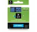 DYMO címke LM D1 alap 12mm Fekete/Kék