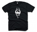 "Skyrim T-Shirt ""Dragon Symbol"", L"