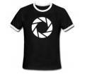 """Portal 2 T-Shirt """"Aperture Symbol"""", S"""