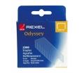 """Tűzőkapocs, REXEL """"Odyssey"""" 2500 db"""