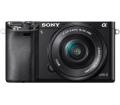 Sony Alpha 6000 Fekete + 16-50mm Kit