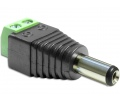 Delock DC 2.1 x 5.5 mm apa > Terminal Block
