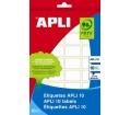 APLI etikett, 8x12 mm, kézzel írható, 1200 db