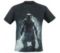 """Skyrim  """"Dragonborn"""", XL póló"""
