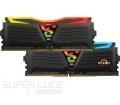 GeIL Super Luce RGB Sync 2400MHz Kit2 32GB fekete