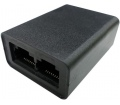 Roline T-Adapter Cat. 5e/6/6A, UTP, fekete