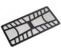 SilverStone FF142 mágneses porszűrő 320mm fekete