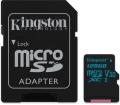 Kingston Canvas Go! microSDXC 128GB + adap.