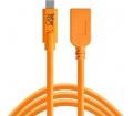 TT TetherPro USB-C > USB hosszabbító 4.6m narancs
