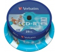 Verbatim CD-R 700MB 52x henger 25db nyomtatható