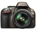 Nikon D5200 bronz + 18-55 VR II kit