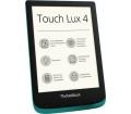 PocketBook Touch Lux 4 smaragdzöld + tok