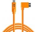 TT TetherPro USB3.0 Type-C > Micro-B jobb 4.6m nar