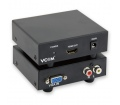Vcom Átalakító VGA - HDMI Audio Támogatással