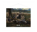 "Days Gone wallscroll ""Cover art"""
