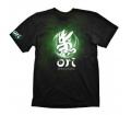 "Ori T-Shirt ""Green Ori & Icon"", M"