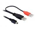 Delock 2x USB-A 2.0 male -> USB mini
