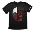 "Payday 2 T-Shirt ""Wolf Mask"", XL"