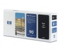 HP No90 nyomtatófej és tisztító Black