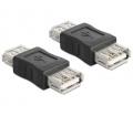 Delock Adapter Gender Changer USB-A f - USB-A f