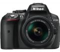 Nikon D5300 + AF-P 18-55 VR Kit