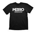 """Metro Exodus """"Logo"""" Black, XXL Póló"""