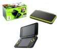 New Nintendo 2DS XL Black & Lime Green + MK7