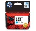 HP 655 ciánkék eredeti Ink Advantage